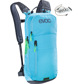 Evoc CC Backpack 6 L + Hydration Bladder 2 L neon blue
